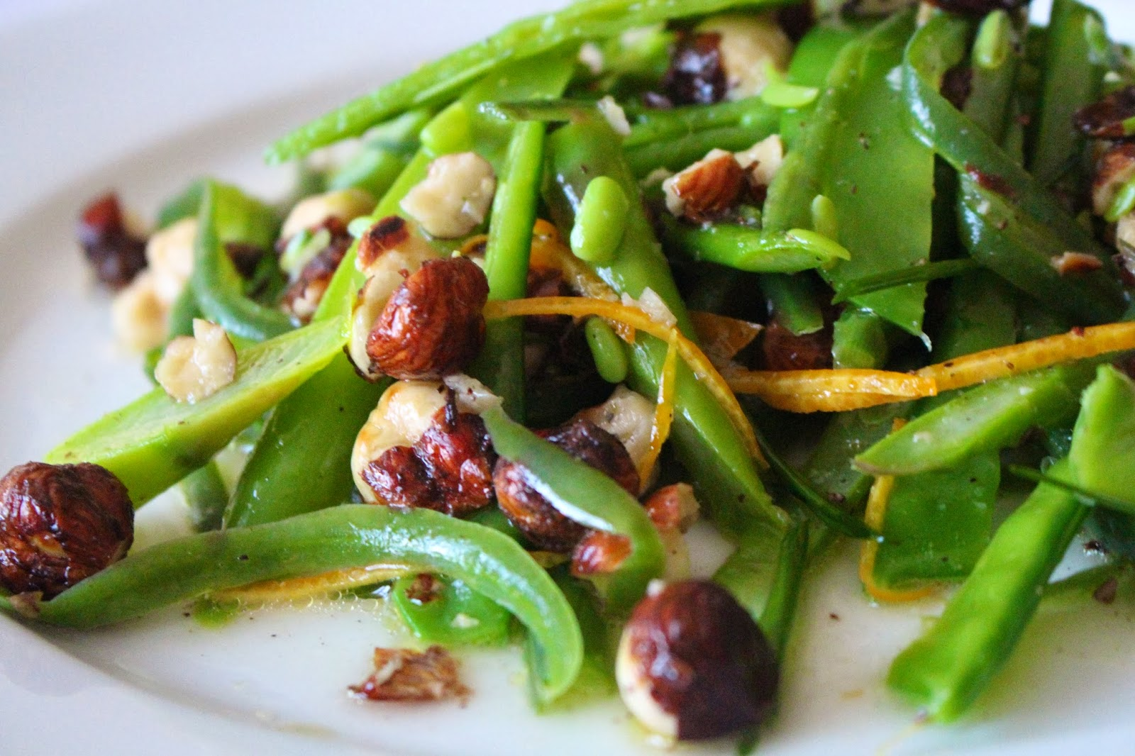 bean salad chicken green bean and hazelnut salad recipe yummly green ...