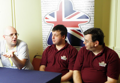 UK Gaming Media Network - Michael Fox interviewing Richard Denning & Tony Hyams