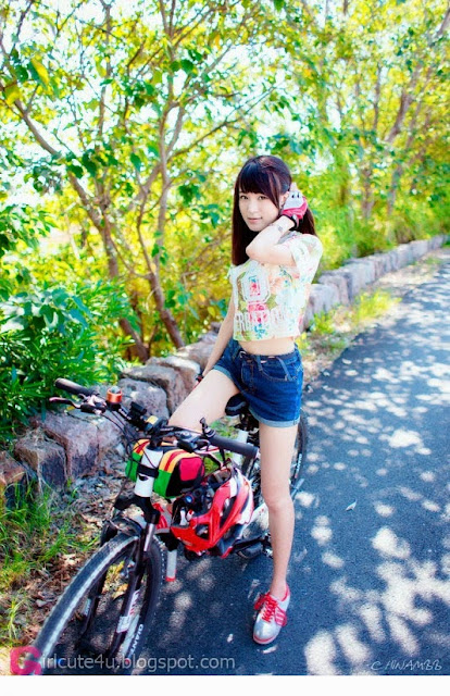 3 Bicycle Girl Diaries - very cute asian girl-girlcute4u.blogspot.com