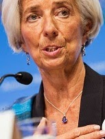 Christing Lagarde, IMF managing director.