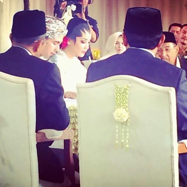 Foto Ijab kabul akad nikah Raffi Ahmad dan Nagita Slavina