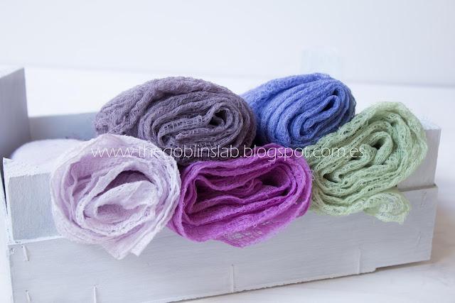 cheesecloth colours Spain-tela de gasa colores España