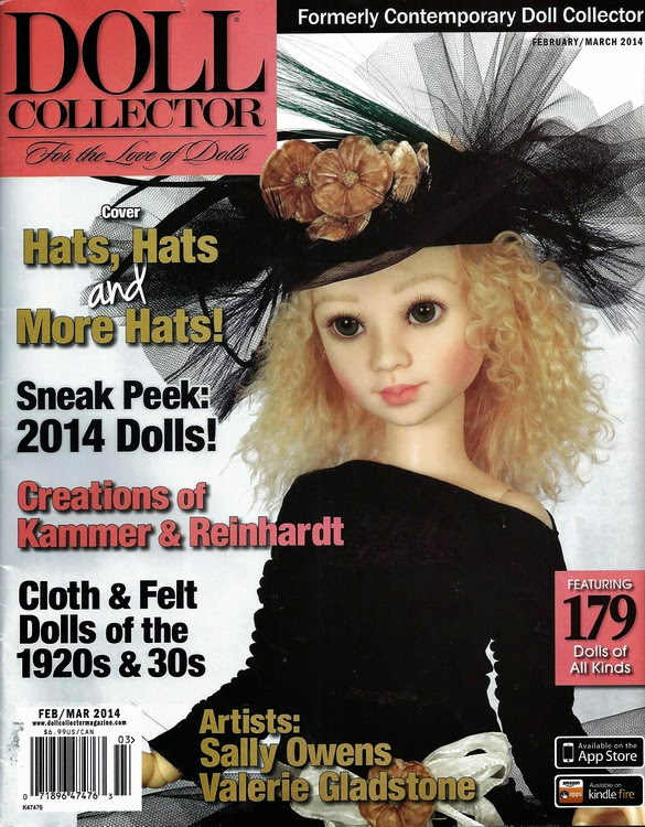 Doll Collector Mag Feb/March 2014