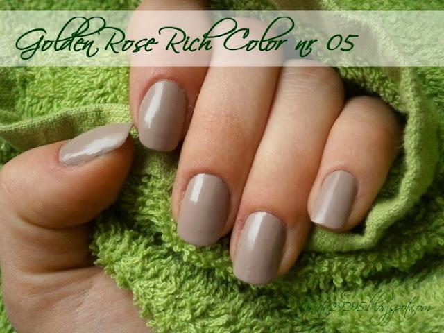 Lakier Golden Rose Rich Color nr 05