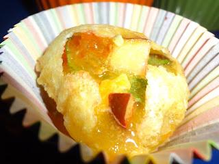 Fruit pani puri