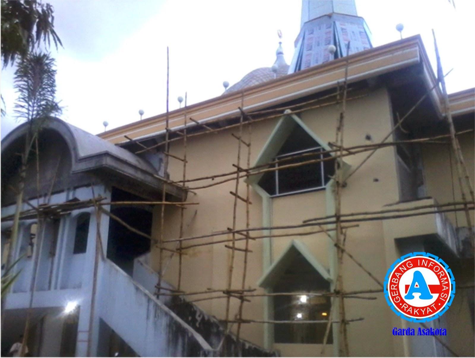Telan Rp3, 9 M, Renovasi Masjid Raya Dompu Tak Kunjung Tuntas