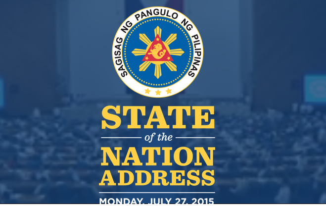 sona of pnoy 2015 2 Postscript to the 2015 sona  speeches such as pnoy's sona must show the rallying points around which a citizenry can wrap their civic resolve without these .