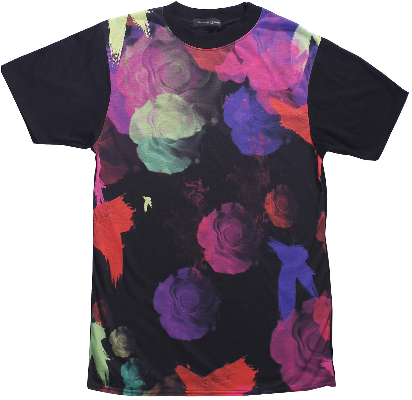 EPHRAIM YEBOAH FLOWER CHILD T-SHIRT