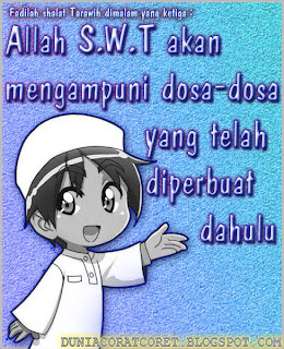 Fadilah Shalat Tarawih (Bergambar)