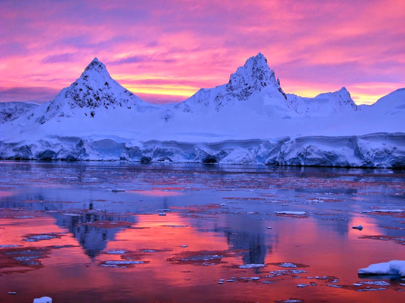 facts about Antarctica: Days and nights