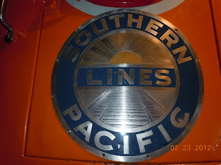 southern pacific railroad sign