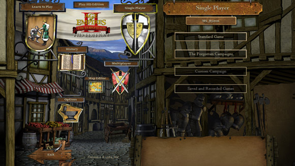Age of Empires II HD The Forgotten PC Screenshot 1 Age of Empires II HD: The Forgotten RELOADED