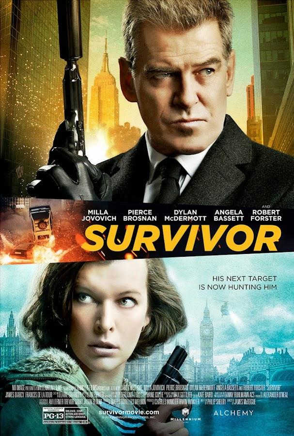 ตัวอย่างหนังใหม่ : Survivor (เกมล่าระเบิดเมือง) ซับไทย poster
