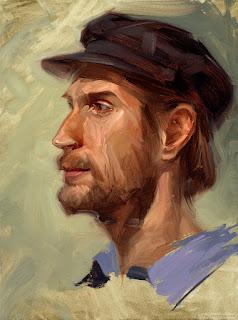 Michael by Rob Rey - robreyfineart.com