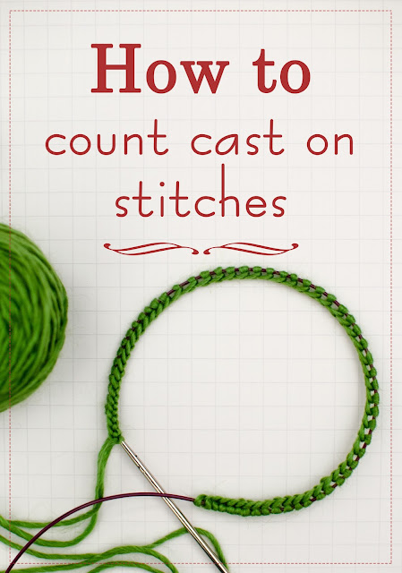How To Cast On Stitches By Knitting Them On : Katya Frankel: How to keep track of cast on stitches