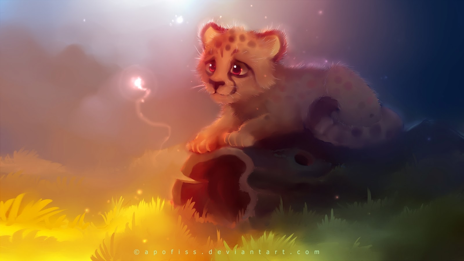 Cartoons Cute Baby Cheetah Wallpapers HD together with baby leopard ...