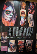 Please check out my new article in Tattoo Tribal Mag. Japan khan tattoo.