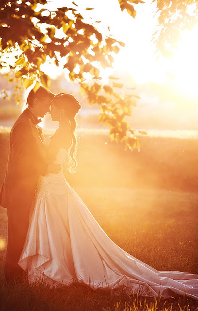 Свадебное фото: только ты и я