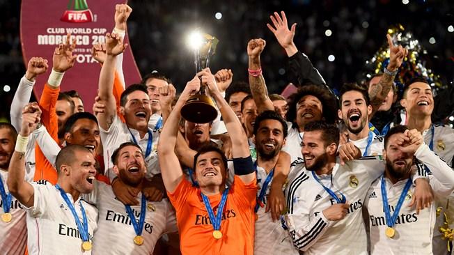 Real Madrid, Campeón del Mundial de Clubes de la FIFA 2014. Derrotó (a medio gas, casi caminando) al San Lorenzo de Argentina por marcador de 2-0, con goles de Sergio Ramos y Gareth Bale | Ximinia