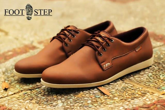 Sepatu Kulit Sepatu Kulit Footstep Polar Brown