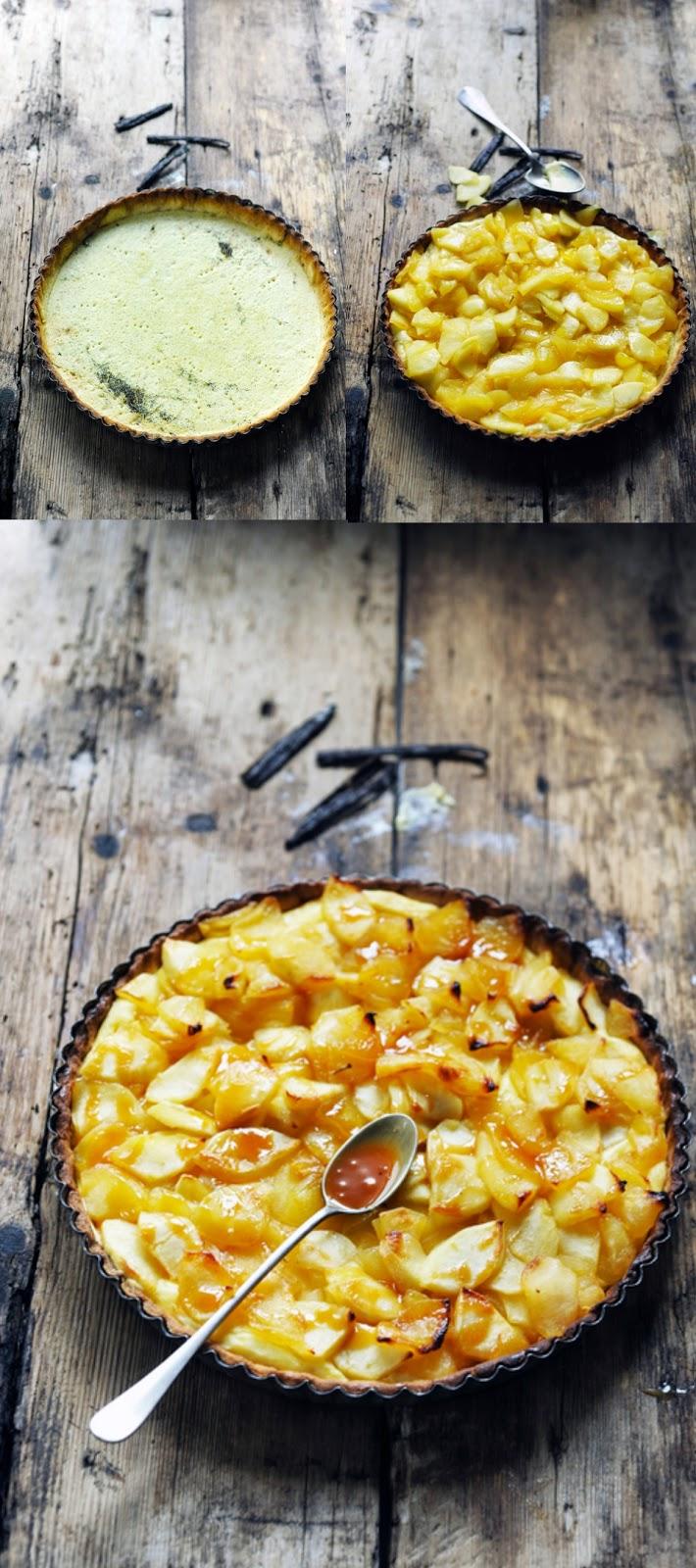 Et si la vanille pouvait encore nous étonner ??? Subtile Vanille de Nathalie Helal et tarte aux pommes confites à la crème vanillée et autres petites choses…