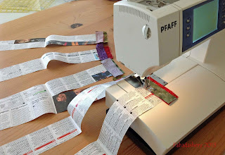 String Foundation Piecing Pfaff 2058