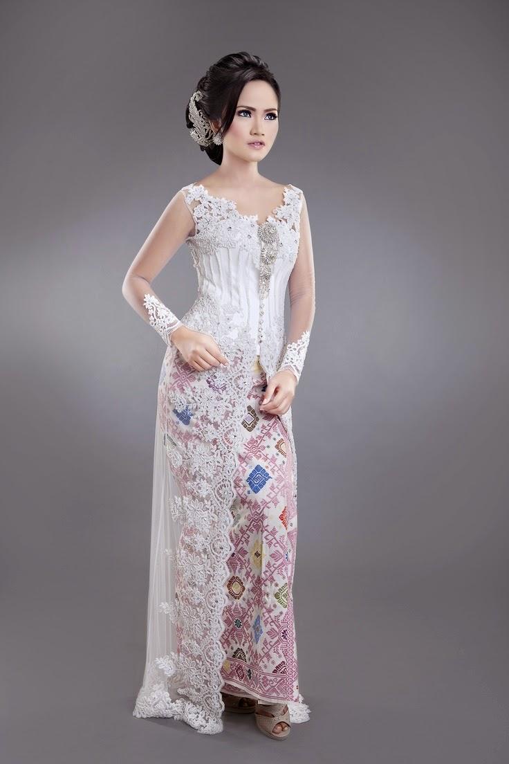 30+ Desain Model Baju Kebaya Muslim Brokat Modern Pesta