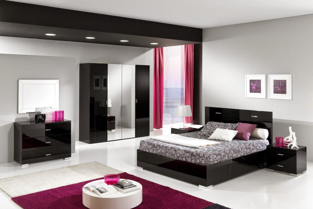 Moderne slaapkamer paars u2013 cartoonbox.info