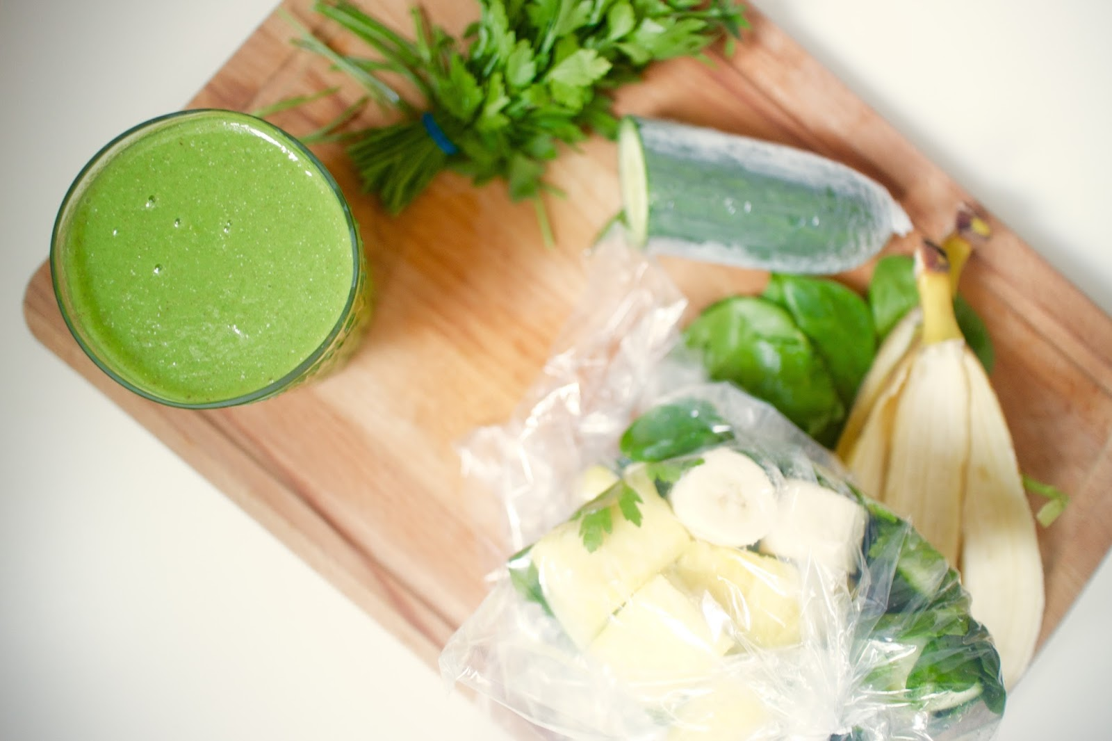 She's So Lucy Grab Go Green Smoothie Detox Healthy Breakfast
