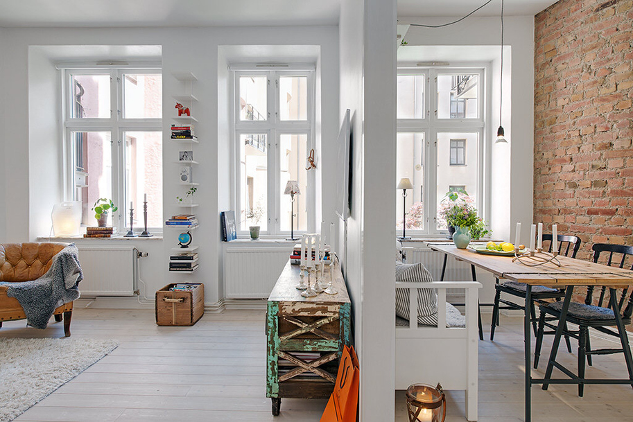 My Scandinavian Home Clever Use Of A Small Space In Sweden