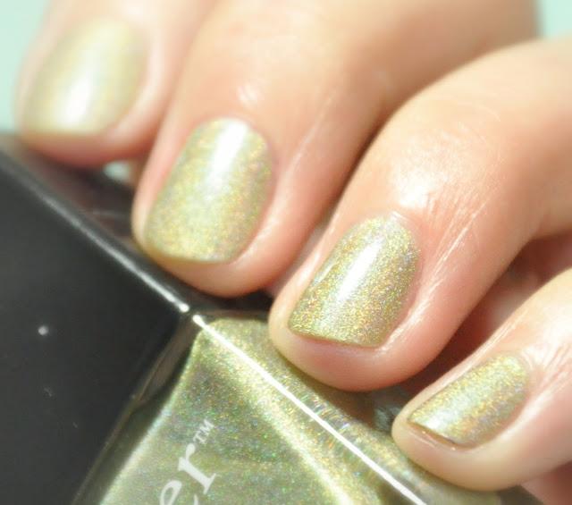 nail nailart manucure holographique nailpolish