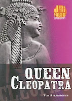 bookcover of QUEEN CLEOPATRA by Thomas Streissguth