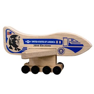 Donald Trump Air Force One Holgate Toy Campaign Collectible