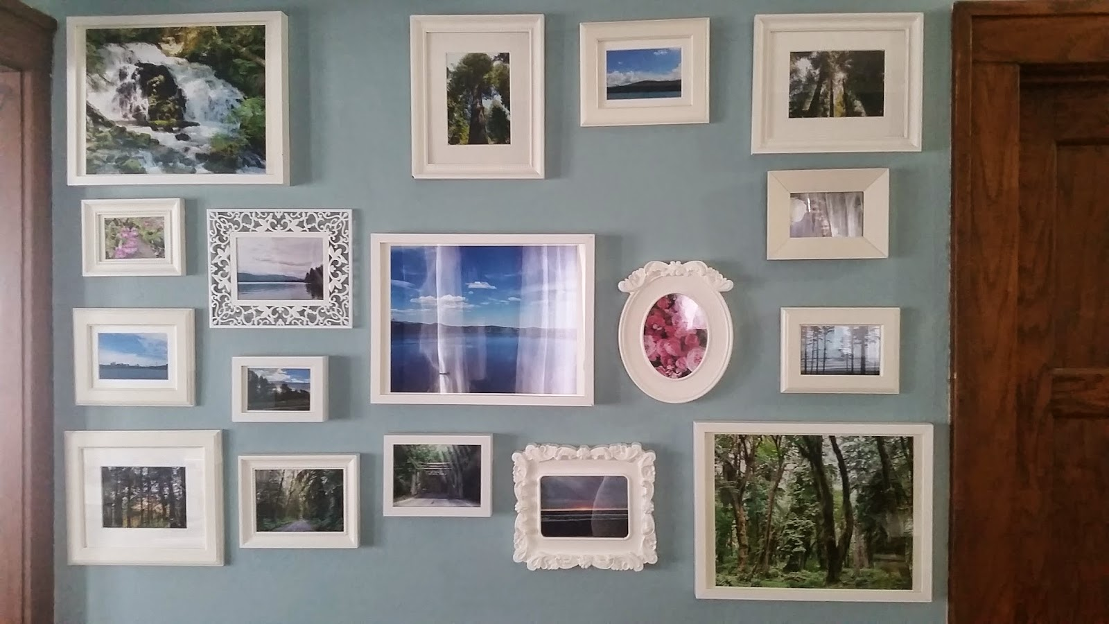 Crafty Homestead: Putting Up A Gallery Wall