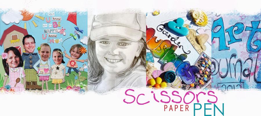 Scissors Paper Pen