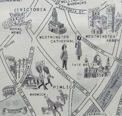 London theme fabric