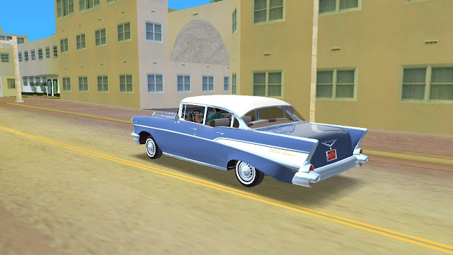 Chevrolet Bel Air 4-Door Sedan 1957 GTA Vice City