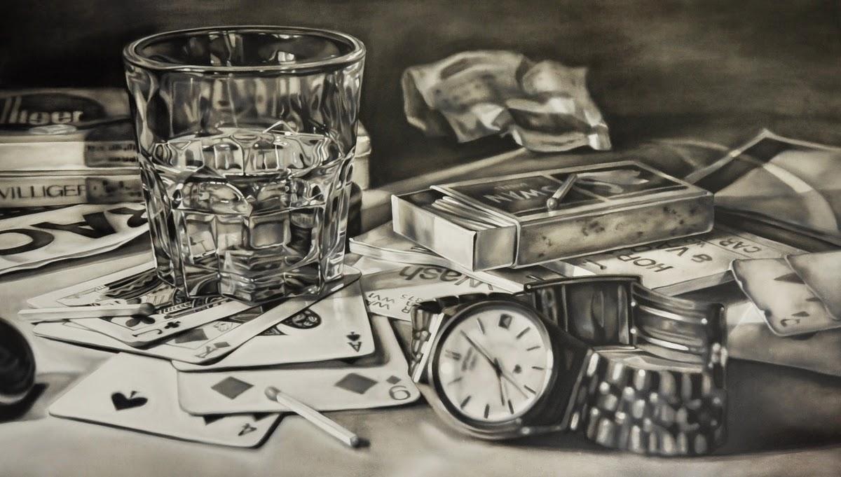 03-Mr-Lester-Kate-Brinkworth-Black-&-White-Photo-Real-Paintings-&-Drawings-www-designstack-co
