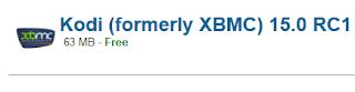 Kodi (formerly XBMC) 15.0 RC1 Download For Windows