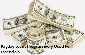Payday Loans Progressively Used For Essentials