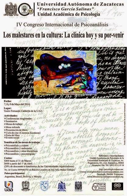 IV Congreso Internacional de Psicoanálisis