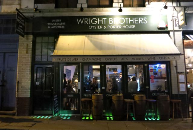 Wright Brothers - Oysters & Porterhouse