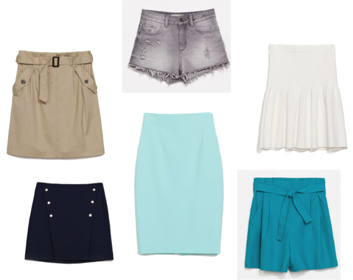 VipandSmart Faldas y Shorts Zara'14