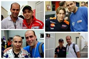 Rossi, Hayden, Lorenzo y Stoner