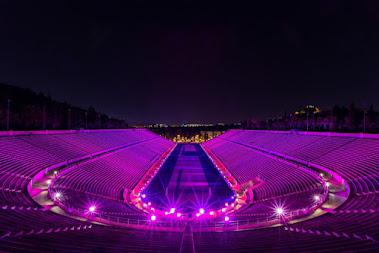 ΔΡΑΣΗ -  Φωταγώγηση του Παναθηναϊκού Σταδίου