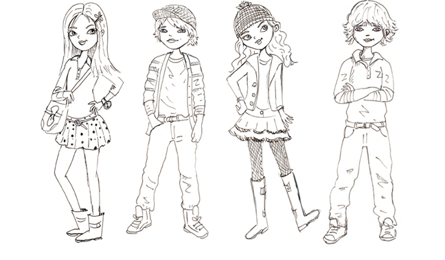 girls and boys drawing for kids - Drawing For Boys