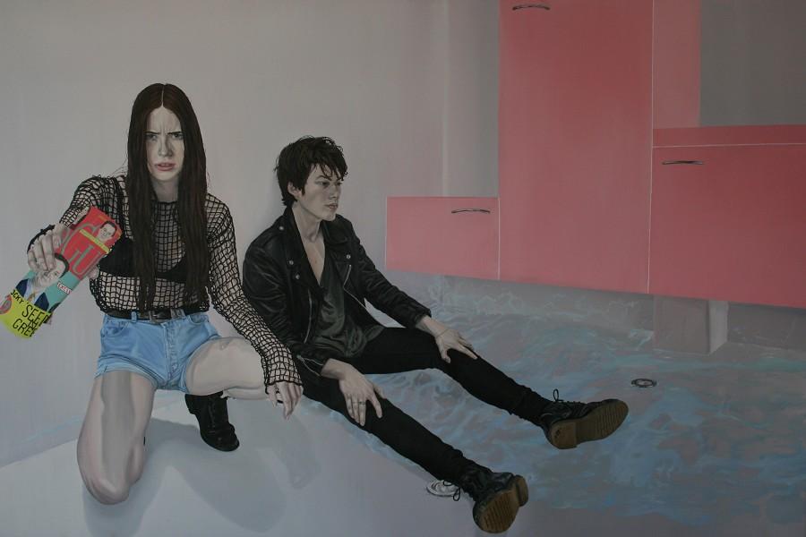 nuncalosabre.Pintura. Painting - Tristan Pigot