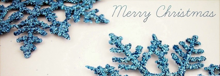 blue christmas fb cover photo