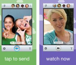 inviare video messaggi app per Android e iPhone