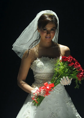 sana khan in wedding dress unseen pics